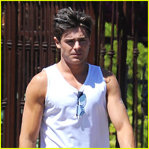 Zac Efron: Muscles for 'Townies'