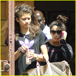 Zendaya & Aly Raisman: 'Dancing with the Stars' Pals!