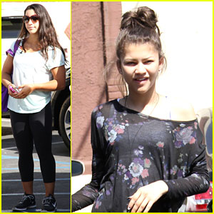 Aly Raisman &#038; Zendaya: 'DWTS' Practice Pair