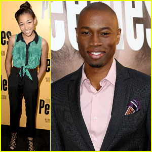 Amandla Stenberg & Robbie Jones: 'Peeples' Hollywood Premiere