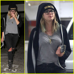 Ashley Benson: 'Gatsby' Movie Night