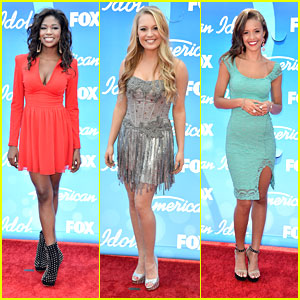 'American Idol' Finale: Top Ten Hit The Red Carpet!