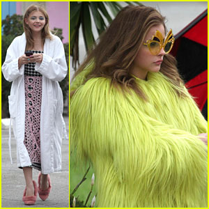 Chloe Moretz: Funky Fashion Photo Shoot