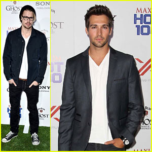 Chord Overstreet &#038; James Maslow: Maxim Hot 100 Party
