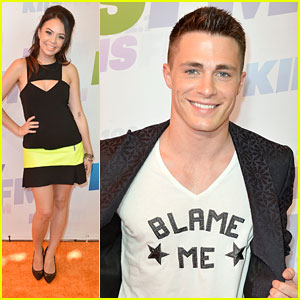 Colton Haynes &#038; Janel Parrish: Wango Tango Twosome