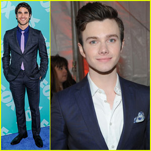 Darren Criss &#038; Chris Colfer: Fox Upfronts 2013