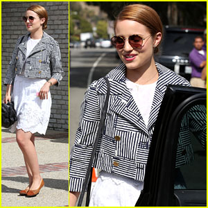 Dianna Agron: Memorial Day Party Pretty