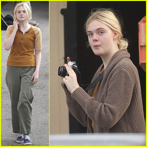 Elle Fanning: 'Low Down' Photographer