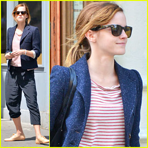 Emma Watson: NYC Walk After Met Ball