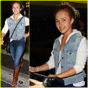 Hayden Panettiere Texted Taylor Swift About 'Nashville' Character Comparisons
