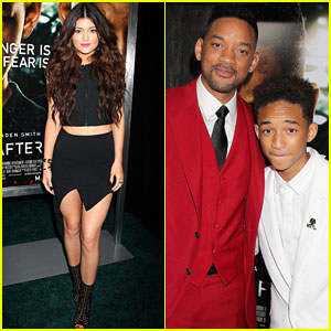 Jaden Smith & Kylie Jenner: 'After Earth' NYC Premiere