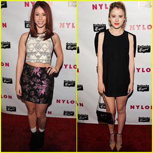 Jillian Rose Reed & Taylor Spreitler: Nylon Young Hollywood Party 2013