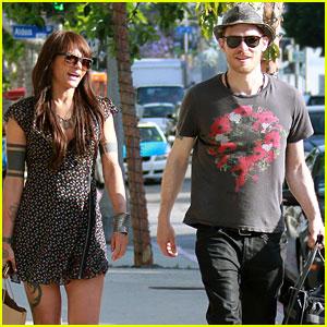 Joseph Morgan & Persia White: WeHo Shopping Couple