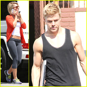 Julianne Hough Roots For Brother Derek on 'DWTS'