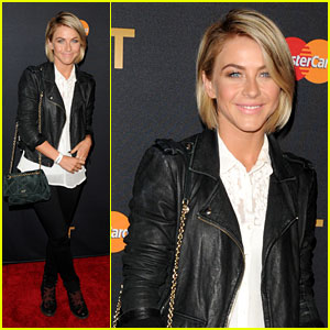 Julianne Hough: Justin Timberlake Concert Attendee