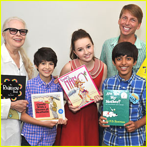 Kaitlyn Dever & Karan Brar: 20 Years of BookPALS Celebration!
