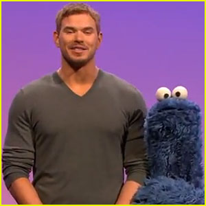 Kellan Lutz: 'Sesame Street' Appearance - Watch Now!