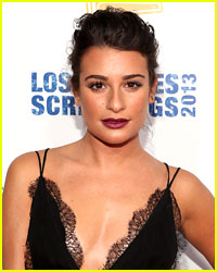 Lea Michele Can't Get Too Tan for Glee