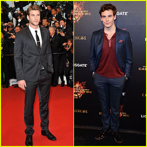 Liam Hemsworth &amp; Sam Claflin: 'Catching Fire' in Cannes!