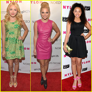 Peyton List &#038; Olivia Holt: Nylon Young Hollywood Party 2013