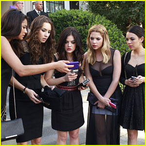 Pretty Little Liars: Season Four Premiere Pics!