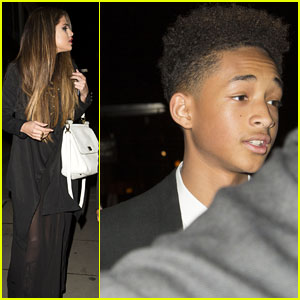 Selena Gomez & Jaden Smith Grab Dinner in London