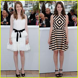 Taissa Farmiga & Katie Chang: 'Bling Ring' Photo Call at Cannes!