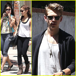Vanessa Hudgens Shops The Green Man