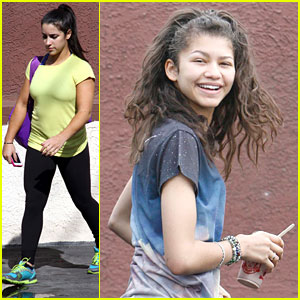 Zendaya &amp; Aly Raisman: Last Practices Before DWTS Finale