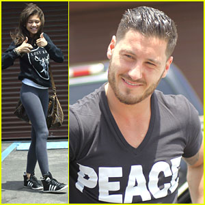 Zendaya &amp; Val Chmerkovskiy: 'DWTS' Finale Practice Pair
