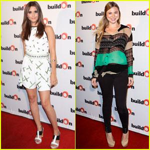 Alexandra Chando & Allie Gonino: BuildOn Charity Event