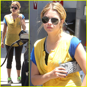 Ashley Benson On First Love Scene with Tyler Blackburn: 'It Was Awkward'