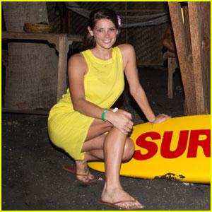 Ashley Greene: Oakley Pro Night Surf Event!
