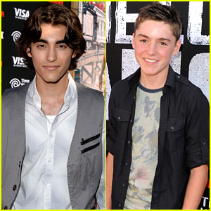 Blake Michael & Spencer List: 'Lone Ranger' Premiere