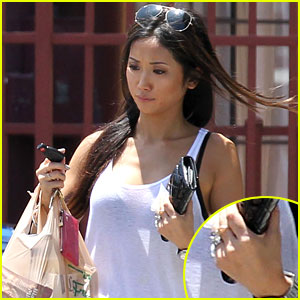 Is Brenda Song Wearing an Engagement Ring Again?
