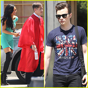 Chris Colfer & Naya Rivera: Glee Photo Shoot For Season 5!