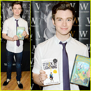 Chris Colfer: 'I'm Terrified to do an Album!'
