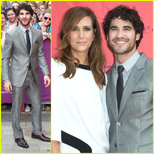 Darren Criss: 'Girl Most Likely' Paris Premiere