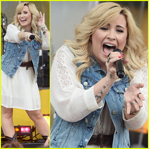 Demi Lovato Sings Her Hits on 'GMA'!