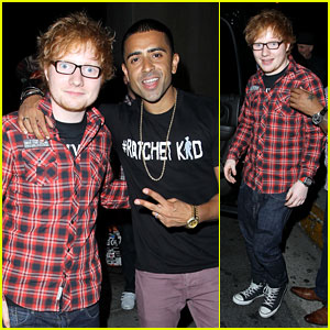 Ed Sheeran Attends Scooter Braun's Birthday Party!