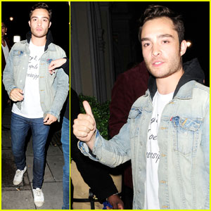 Ed Westwick: Birthday Night Out!