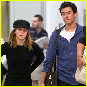 Emma Watson & Will Adamowicz: Back in the Big Apple!