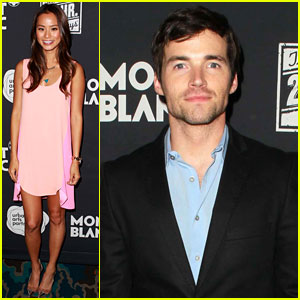 Ian Harding & Jamie Chung: '24 Hour Plays' After-Party