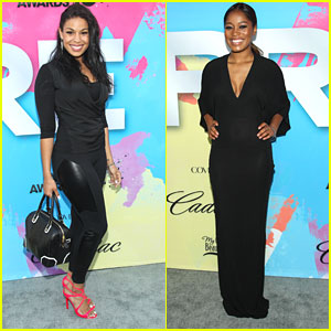 Jordin Sparks & Keke Palmer: Pre-BET Celebration Dinner