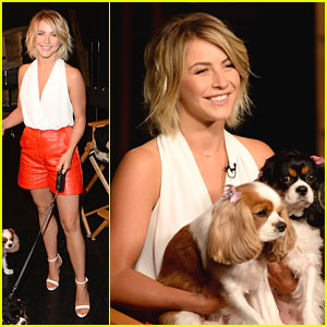Julianne Hough: Bring Your Pets To Work Day!