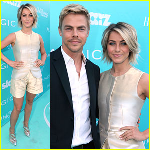 Julianne & Derek Hough: 'Magic City' Premiere Pair