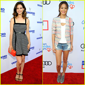 Lyndsy Fonseca & Jamie Chung: Children Mending Hearts Style Sunday 2013