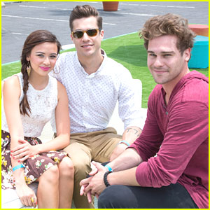 Malese Jow & Grey Damon: 'Star-Crossed' at Just Jared's Summer Kickoff Party 2013
