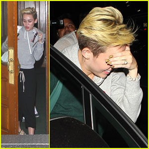 Miley Cyrus: Late Night Doctor's Visit