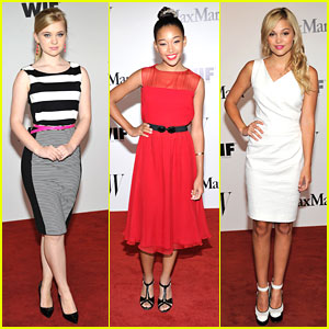 Olivia Holt & Amandla Stenberg: Women In Film Max Mara Face of the Future Awards 2013